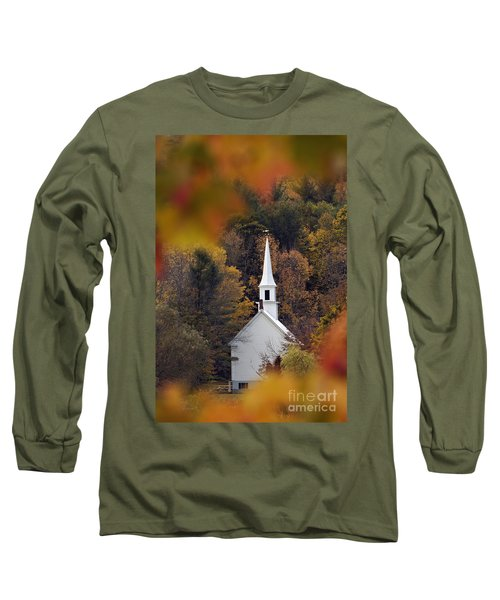 Little White Church - D007297 Long Sleeve T-Shirt