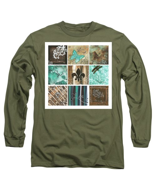 Live And Love By Madart Long Sleeve T-Shirt