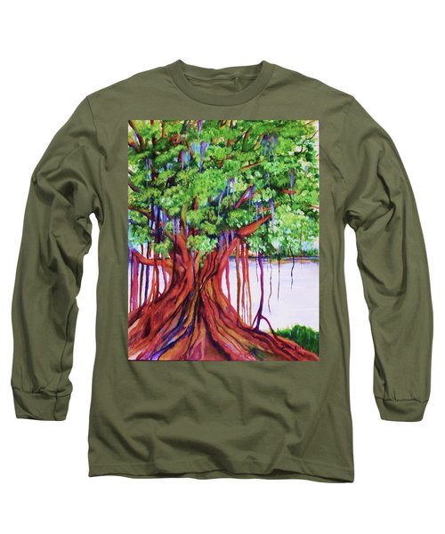 Living Banyan Tree Long Sleeve T-Shirt