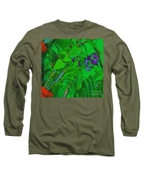 Living Wall Art Long Sleeve T-Shirt