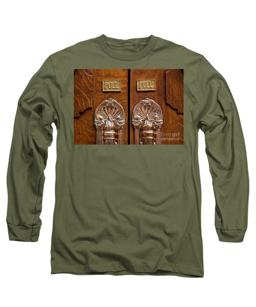 London Coliseum Doors 02 Long Sleeve T-Shirt