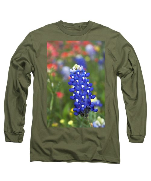 Lone Bluebonnet Long Sleeve T-Shirt