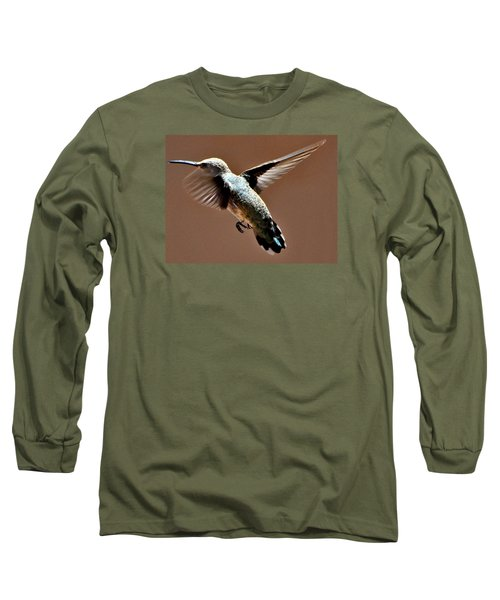 Long Sleeve T-Shirt featuring the photograph Look At My Crazy Crows Feet by Jay Milo