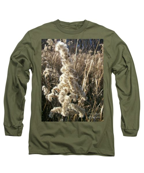 Long Sleeve T-Shirt featuring the photograph Looks Like Cotton by Sara  Raber