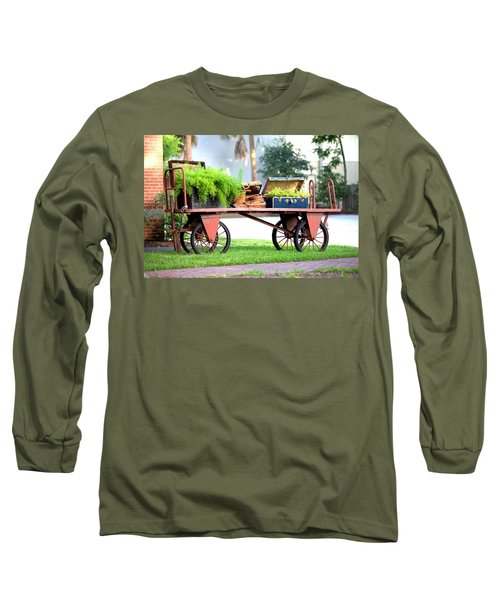 Long Sleeve T-Shirt featuring the photograph Lost Luggage by Gordon Elwell
