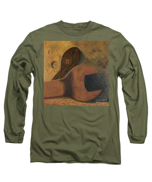 Lost Tools Long Sleeve T-Shirt by Garry McMichael