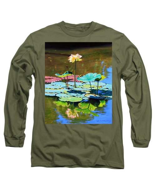 Lotus Above The Lily Pads Long Sleeve T-Shirt