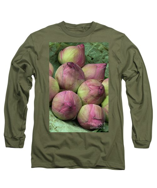 Lotus Buds Long Sleeve T-Shirt
