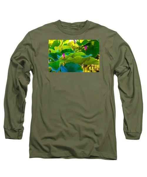 Lotus Garden Long Sleeve T-Shirt