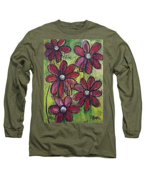 Love For Five Daisies Long Sleeve T-Shirt