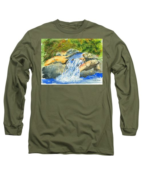 Lower Burch Creek Long Sleeve T-Shirt