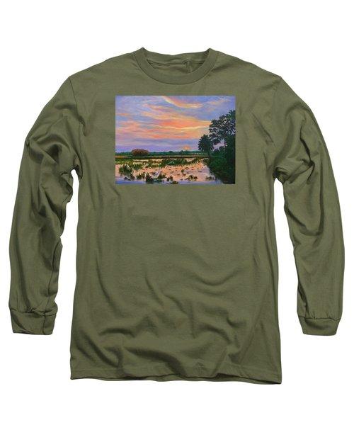 Loxahatchee Sunset Long Sleeve T-Shirt