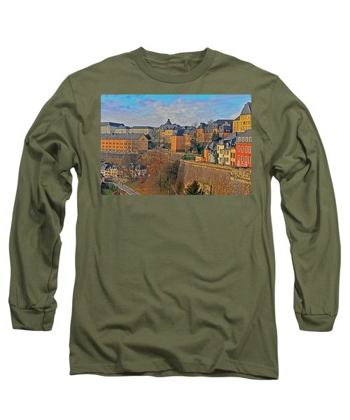 Luxembourg Fortification Long Sleeve T-Shirt
