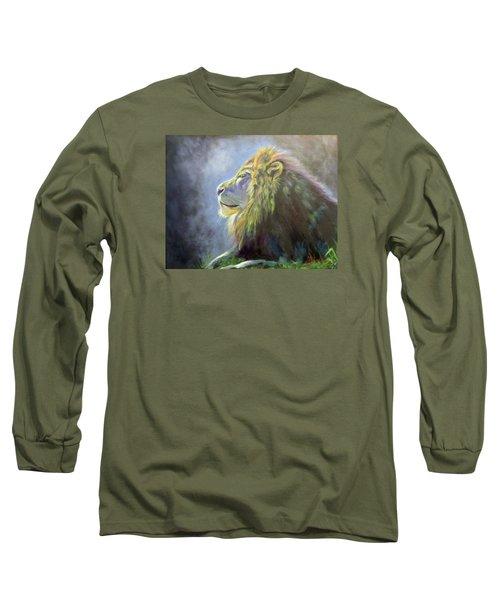Lying In The Moonlight, Lion Long Sleeve T-Shirt