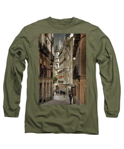 Madrid Streets Long Sleeve T-Shirt