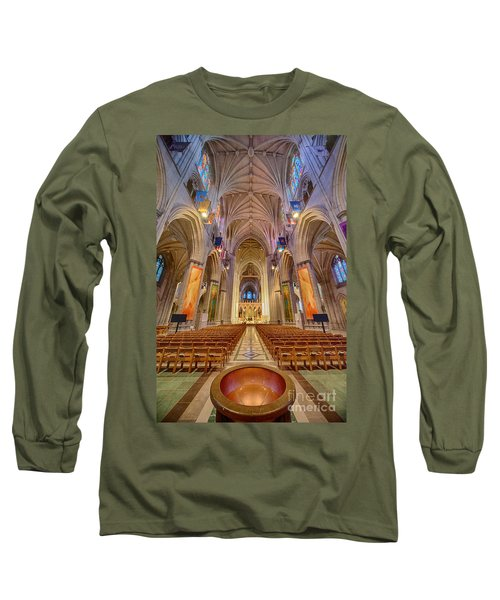 Magnificent Cathedral V Long Sleeve T-Shirt