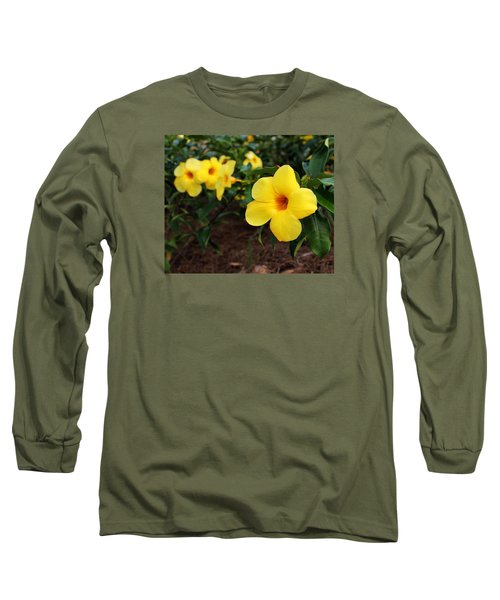 Mandevilla Long Sleeve T-Shirt by Judy Vincent