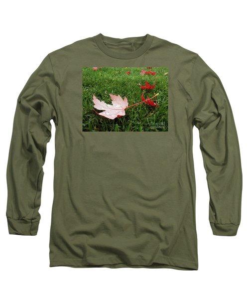 Maple Leaf In Canada Long Sleeve T-Shirt