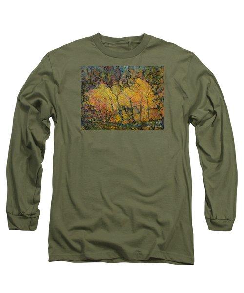 Maples Long Sleeve T-Shirt by Anna Yurasovsky