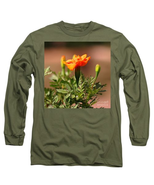Long Sleeve T-Shirt featuring the photograph Mary Reaches For The Sun by Joseph J Stevens