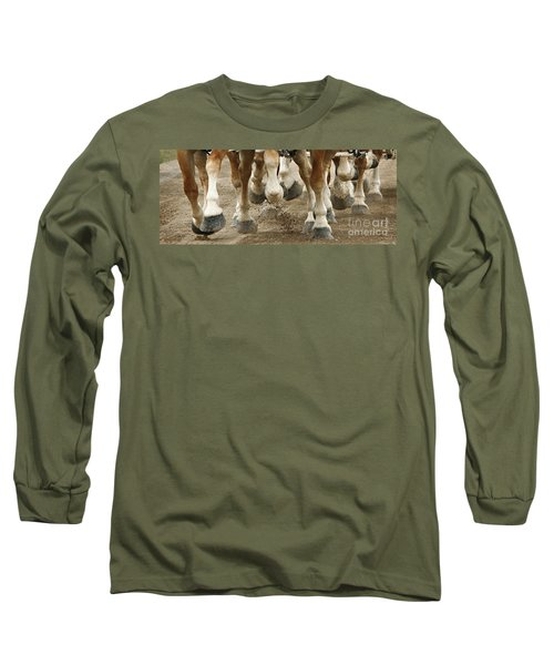 Match 'em Up Long Sleeve T-Shirt by Carol Lynn Coronios