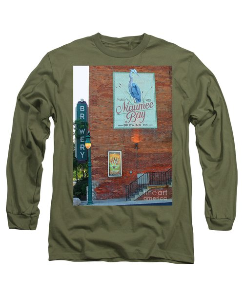 Maumee Bay Brewing Company 2135 Long Sleeve T-Shirt
