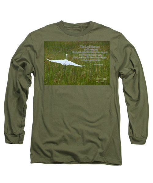 May The Lord Bless You Long Sleeve T-Shirt