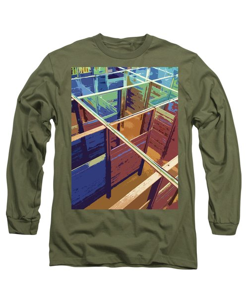 Labirinto Long Sleeve T-Shirt by Julio Lopez
