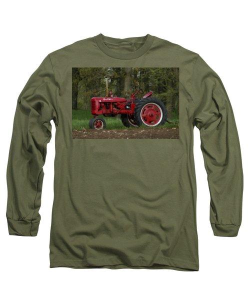 Mccormick Farmall Long Sleeve T-Shirt