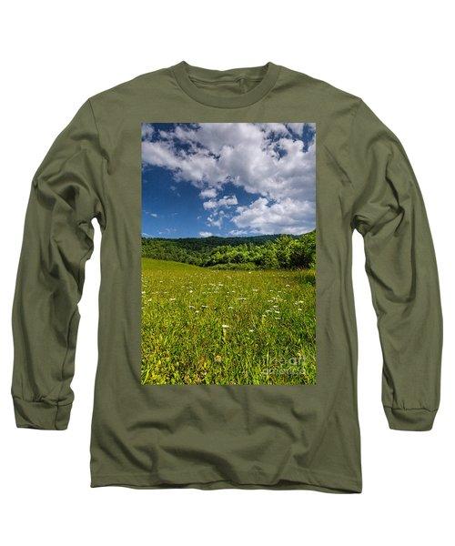 Black Rock Mountains Long Sleeve T-Shirt