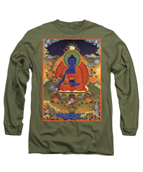 Medicine Buddha 8 Long Sleeve T-Shirt