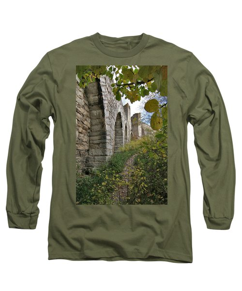 Medieval Town Wall Long Sleeve T-Shirt