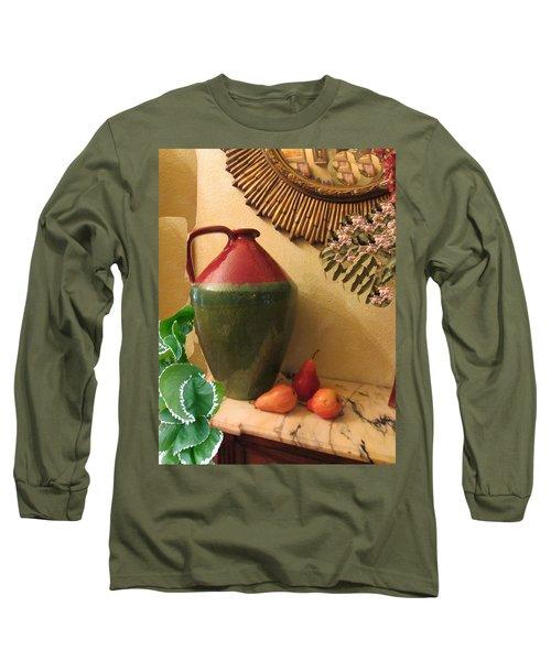 Mediterranean Juicy Snack Long Sleeve T-Shirt