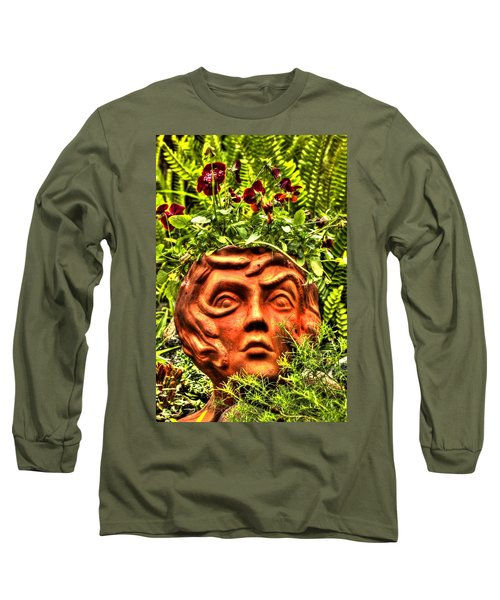 Medusa  Long Sleeve T-Shirt