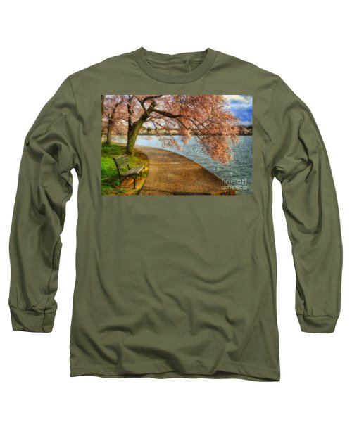 Meet Me At Our Bench Long Sleeve T-Shirt