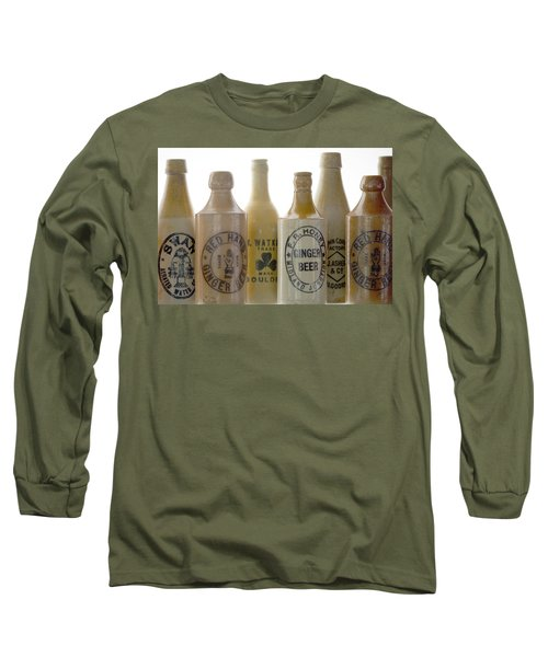Long Sleeve T-Shirt featuring the photograph Memories In A Bottle by Holly Kempe
