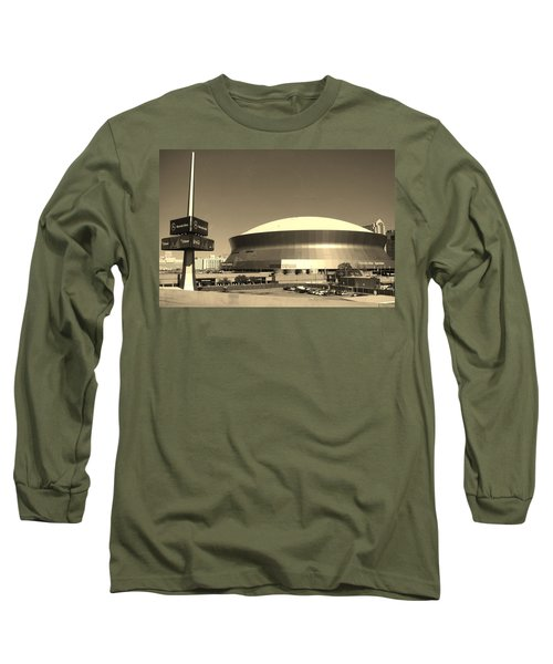 Mercedes Benz Superdome - New Orleans La Long Sleeve T-Shirt