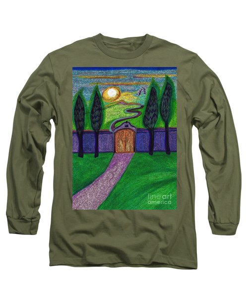 Metaphor Door By Jrr Long Sleeve T-Shirt