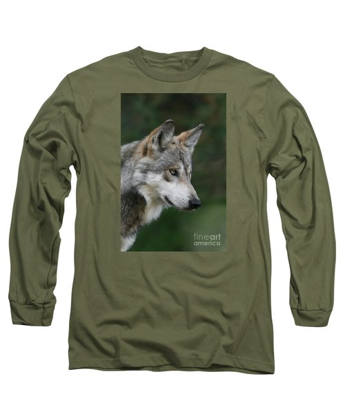 Mexican Wolf #5 Long Sleeve T-Shirt