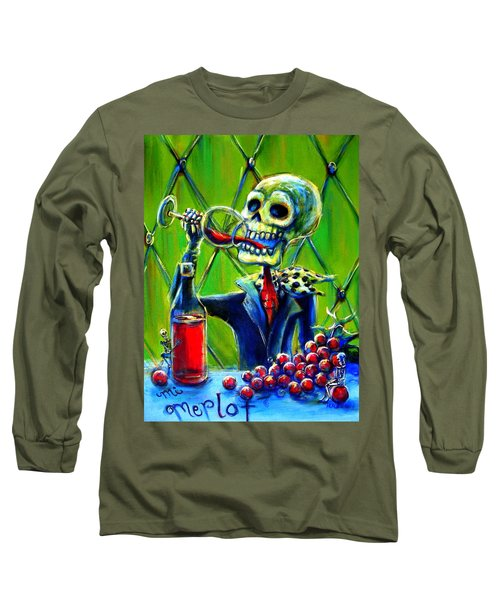 Mi Merlot Long Sleeve T-Shirt