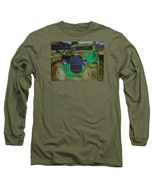 Long Sleeve T-Shirt featuring the photograph Michigan Coupe by MJ Olsen