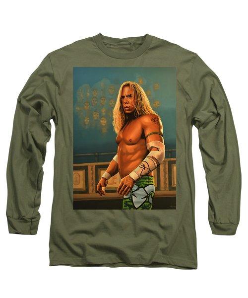 Mickey Rourke Long Sleeve T-Shirt