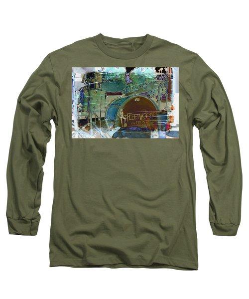 Mick's Drums Long Sleeve T-Shirt