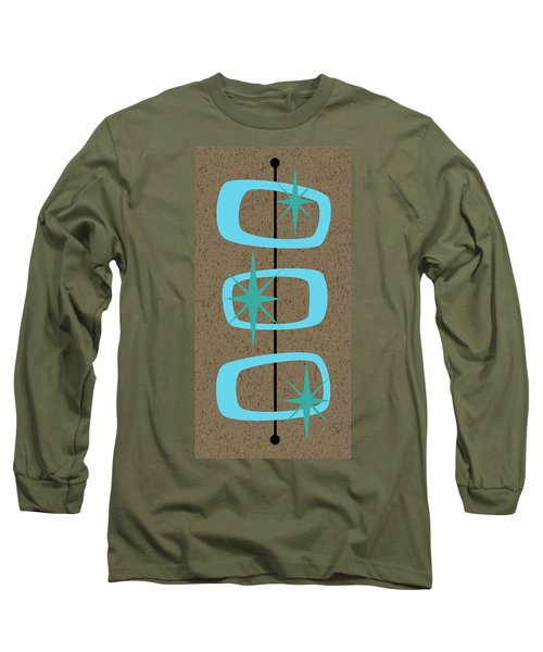 Mid Century Modern Shapes 1 Long Sleeve T-Shirt