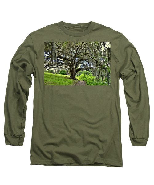Middleton Place Oak  Long Sleeve T-Shirt