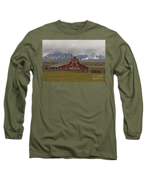 Midway Ranch Barn Long Sleeve T-Shirt