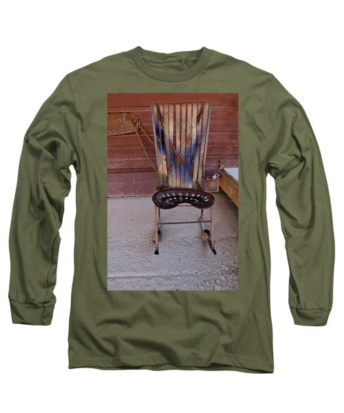 Long Sleeve T-Shirt featuring the photograph Miner's Rocker by Fran Riley