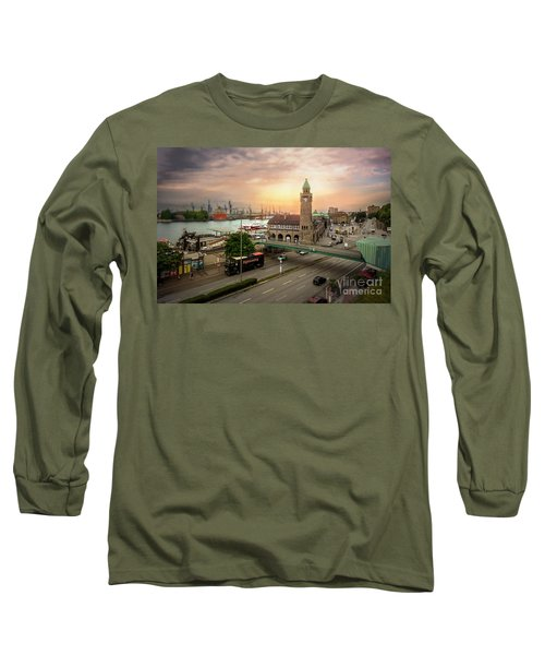 Miniature Hamburg Long Sleeve T-Shirt by Daniel Heine