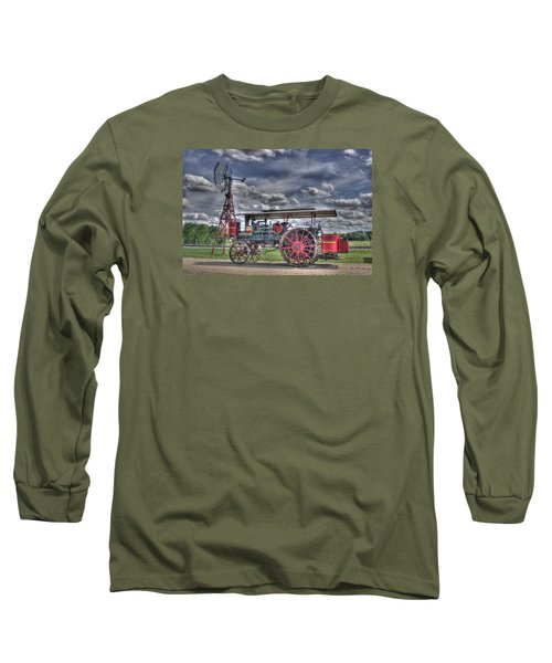 Minneapolis At The Windmill Long Sleeve T-Shirt by Shelly Gunderson