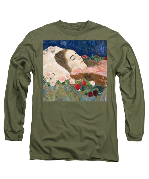 Miss Ria Munk On Her Deathbed Long Sleeve T-Shirt